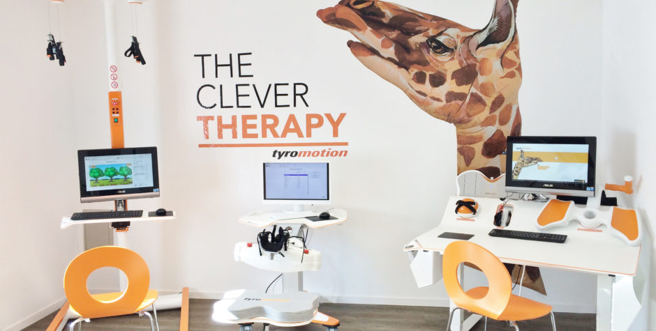 Tyromotion therapy suite