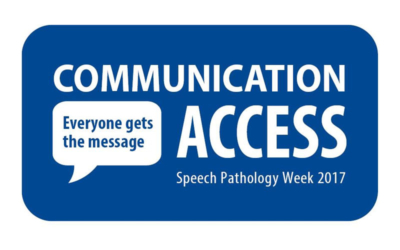 Communication Access Speech Pathology Week logo