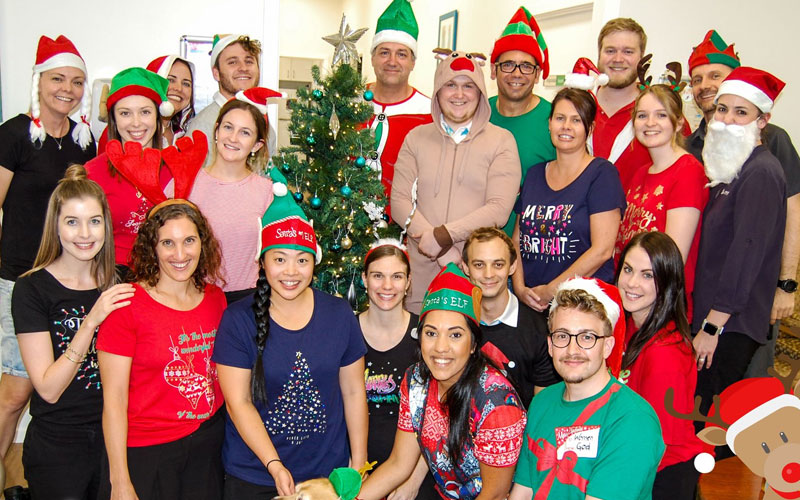 Staff Christmas photo