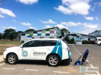 Alliance rehabilitation car in Ayr