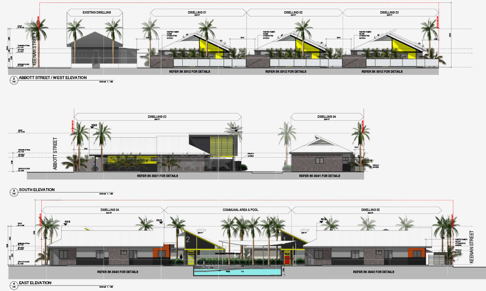 SDA architectural plan side view