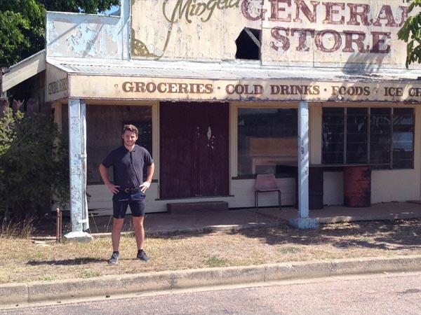 Team member outreach in Charters Towers, North Queensland
